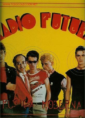 DISCO DE VINILO L. P. DE RADIO FUTURA, MÚSICA MODERNA: ENAMORADO DE LA MODA JUVENIL, IVONNE (RENDEZ- (Música - Discos - LP Vinilo - Grupos Españoles de los 70 y 80)