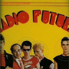 Discos de vinilo: DISCO DE VINILO L. P. DE RADIO FUTURA, MÚSICA MODERNA: ENAMORADO DE LA MODA JUVENIL, IVONNE (RENDEZ-. Lote 25404546