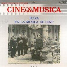 Discos de vinilo: CINE & MUSICA-LP- RUSIA EN LA MUSICA DE CINE - TEMAS SELECCIONADOS DE LAS PELICULAS (VER) XXX. Lote 24197127