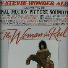 Discos de vinilo: DISCO DE VINILO L. P. DE NEW STEVIE WONDER ALBUM, SELECCIONES DE BANDAS SONORAS DE PELÍCULAS: I JUST. Lote 25302979