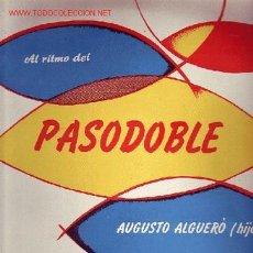 Discos de vinilo: AUGUSTO ALGUERO DISCO LP ORIGINAL. Lote 24144138