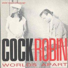 Discos de vinil: COCK ROBIN. Lote 1200117
