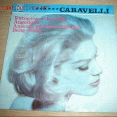 Discos de vinilo: DISCO SINGLE CON 4 CANCIONES -CARAVELLI- AÑO 1966.. Lote 1206445