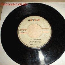Discos de vinilo: DISCO SINGLE -JOAN MANUEL SERRAT- AÑO 1968. . Lote 1206914