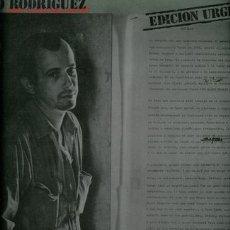 Discos de vinilo: DISCO DE VINILO L. P. DE SILVIO RODRÍGUEZ, UNICORNIO, EDICIÓN URGENTE: POR QUIÉN MERECE AMOR, LA GAV. Lote 255550000