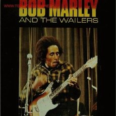 Discos de vinilo: DISCO L. P. DE VINILO DE BOB MARLEY AND THE WAILERS, RASTA REVOLUTION: MR. BROWN, SOUL REBEL, TRY ME. Lote 25381973