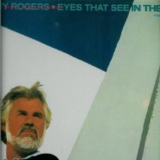 Discos de vinilo: DISCO L. P. DE VINILO DE KENNY ROGERS, EYES THAT SEE IN THE DARK: THIS WOMAN, YOU AND I, BURIED TREA. Lote 25381974