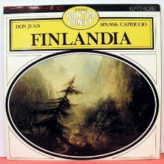 Discos de vinilo: ONDREJ LENÁRD & SINFONIA RADIO CHECOSLOVAQUIA ( DON JUAN - FINLANDIA - SPABSK CAPRICCIO ) LP33. Lote 1235659