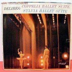 Disques de vinyle: GEORGE SEBASTIAN & ANATOLE FISTOULARI & THE RIAS SYMPHONY ORCHESTRA ( DELIBES ) LP33. Lote 1235709