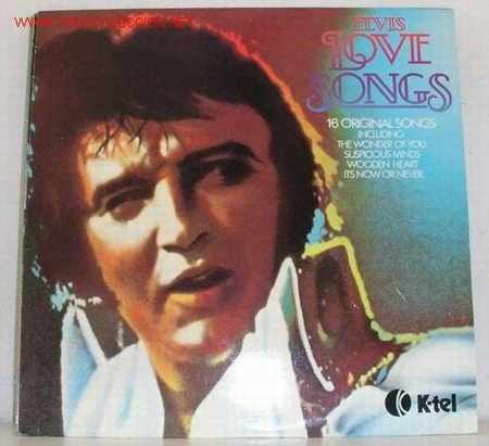 ELVIS PRESLEY ( ELVIS LOVE SONGS ) 1979-FINLANDIA LP33 K-TEL (Música - Discos - LP Vinilo - Rock & Roll)