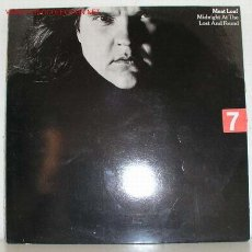 Discos de vinilo: MEAT LOAF (MIDNIGHT AT THE LOST AND FOUND ) 1983 LP33. Lote 1245882