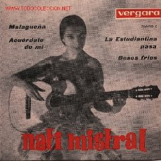 Discos de vinilo: NATI MISTRAL . Lote 1258006