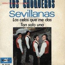 Discos de vinilo: LOS CHOQUEROS . Lote 25240644