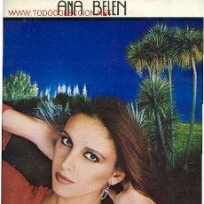Discos de vinilo: LP 33RPM / ANA BELEN / CON LAS MANOS LLENAS /EDITADO POR CBS . Lote 21671295