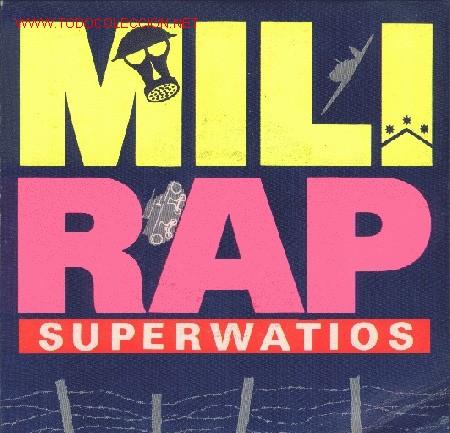SUPERWATIOS (Música - Discos - Singles Vinilo - Rap / Hip Hop)
