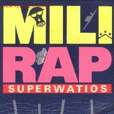 Discos de vinilo: SUPERWATIOS. Lote 1287689