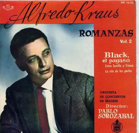 ROMANZAS DE ZARZUELAS (Música - Discos de Vinilo - EPs - Clásica, Ópera, Zarzuela y Marchas)