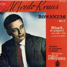 Discos de vinilo: ROMANZAS DE ZARZUELAS. Lote 1290183