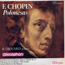 Discos de vinilo: RAYMON TROURD (PIANO) CHOPIN. Lote 1290189