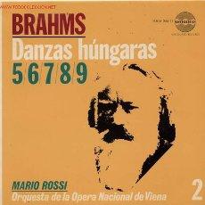 Discos de vinilo: MARIO ROSSI (DIRECTOR) BRAHMNS. Lote 1292055