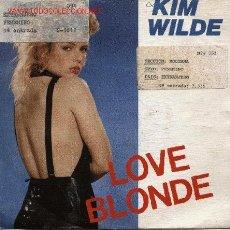Discos de vinilo: KIM WILDE . Lote 1302593