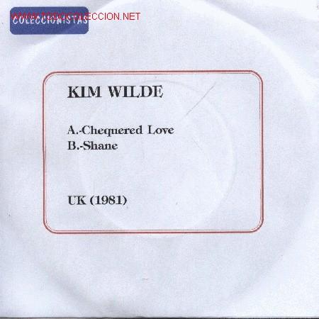KIM WILDE (Música - Discos de Vinilo - Singles - Pop - Rock Extranjero de los 80)