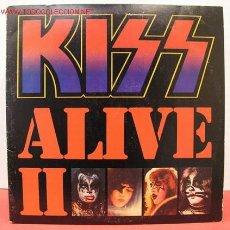 Discos de vinilo: KISS ( KISS ALIVE II ) DOBLE LP33 CALIFORNIA-USA 1977 CASABLANCA. Lote 4769024