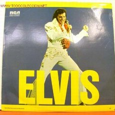 Discos de vinilo: ELVIS PRESLEY ( 'ELVIS' ) LP33 DOBLE USA-1973. Lote 1310913