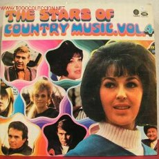 Discos de vinilo: THE STARS OF ''COUNTRY MUSIC VOL.4'' LP33. Lote 1372610