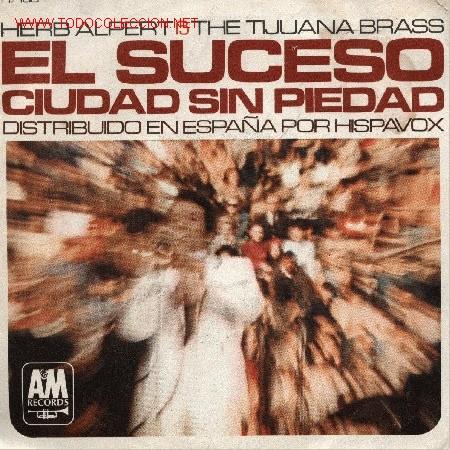 HERB ALPERT AD THE TIJUANA BRASS (Música - Discos - Singles Vinilo - Pop - Rock Internacional de los 50 y 60)