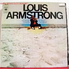 Discos de vinilo: LOUIS ARMSTRONG - LOUIS ARMSTRONG, NETHERLANDS 1969 LP CBS. Lote 1382701