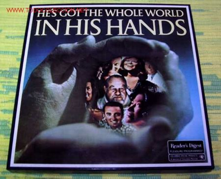 HE'S GOT THE WHOLE WORLD ''IN HIS HANDS'' CAJA CON 5 LP33 (Música - Discos - LP Vinilo - Otros estilos)