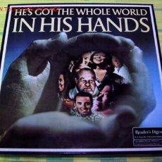 Discos de vinilo: HE'S GOT THE WHOLE WORLD ''IN HIS HANDS'' CAJA CON 5 LP33. Lote 1398109