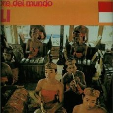 Discos de vinilo: DISCO DE VINILO L.P. DE FOLKLORE DEL MUNDO, BALI: TJAKERA BUANA, GOMBANG SULING, PALENONKIJA, ANGKLU. Lote 25302969