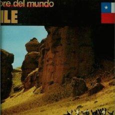 Discos de vinilo: DISCO DE VINILO L.P. DE FOLKLORE DEL MUNDO, CHILE: LA HUELLA, SOMOS PÁJAROS LIBRES, LOS PUEBLOS AMER. Lote 25302973
