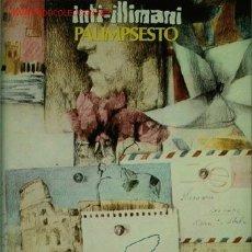 Discos de vinilo: DISCO DE VINILO L.P DE INTI-ILLIMANI, PALIMPSESTO: EL MERCADO TESTACCIO, UN SON PARA FORTINARI, LA F. Lote 25193826