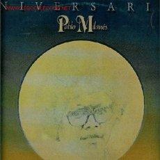 Discos de vinilo: DISCO DE VINILO L.P DE PABLO MILANÉS, ANIVERSARIOS: ANIVERSARIO I Y ANIVERSARIO II, CRIN HIRSUTA, QU. Lote 25137498