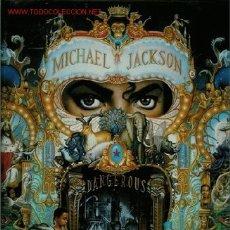 Discos de vinilo: DOBLE DISCO DE VINILO L.P. DE MICHAEL JACKSON, DANGEROUS: JAM, WHY YOU WANNA TRIP ON ME, IN THE CLOS. Lote 25302976