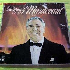 Disques de vinyle: THE MAGIC OF ''MANTOVANI'' CAJA DE SIETE LP33. Lote 1401862