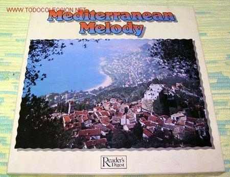 MEDITERRANEAN MELODY CAJA CON NUEVE LP33 (Música - Discos - LP Vinilo - Étnicas y Músicas del Mundo)