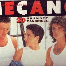 Discos de vinilo: MECANO DOBLE DISCO LP PORTADA DOBLE. Lote 13034002
