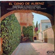 Discos de vinilo: EL GENEIO DE ALBENIZ. Lote 1434634