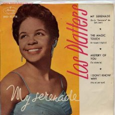 Discos de vinil: LOS PLATTERS / MYSTERY OF YOU / I DON'T NOW WHY / MY SERENADE / THE MAGIC TOCUH (EP 59). Lote 9563561