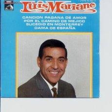 Dischi in vinile: SINGLE DEL CANTANTE ESPAÑOL LUIS MARIANO DE 1969 DE LA CASA DE DISCOS EMI.. Lote 5572268