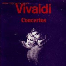 Discos de vinilo: VIVALDI DISCO LP CONCIERTOS . Lote 8734330