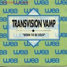 Discos de vinilo: TRANSVISION VAMP . Lote 1475870
