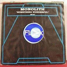 Discos de vinilo: MONOLITH ( SOMETHING WONDERFUL ) ''EDICCION LIMITADA'' LONDRES-1996 LP33. Lote 1518656