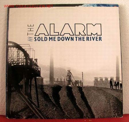 THE ALARM ( SOLD ME DOWN THE RIVER - GWERTHOCH FI I LAWR YR AFON - CORRIDORS OF POWER ) 1989 (Música - Discos de Vinilo - Maxi Singles - Heavy - Metal)