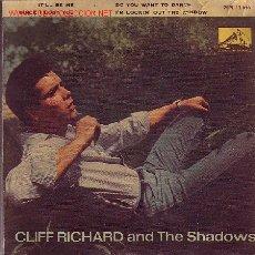 Discos de vinilo: CLIFF RICHARD AND THE SHADOWS DISCO EP 1962 SPA. Lote 10851118