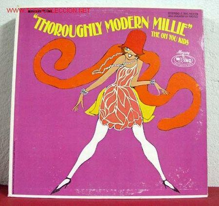 THE OH YOU KIDS ( THOROUGHLY MODERN MILLIE ) LP33 (Música - Discos - LP Vinilo - Otros estilos)